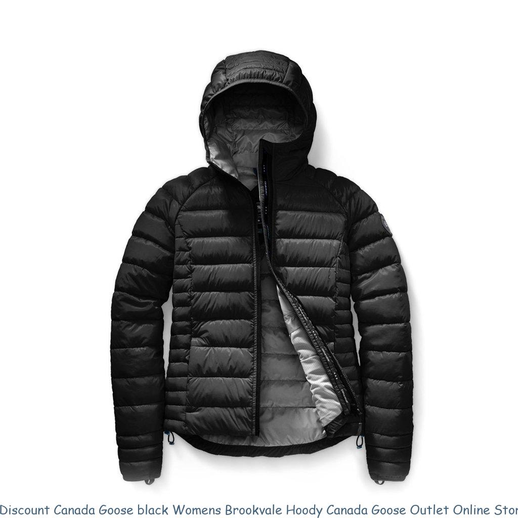 4e53c5ce6c9 Discount Canada Goose black Womens Brookvale Hoody Canada Goose Outlet Online  Store 6605130949