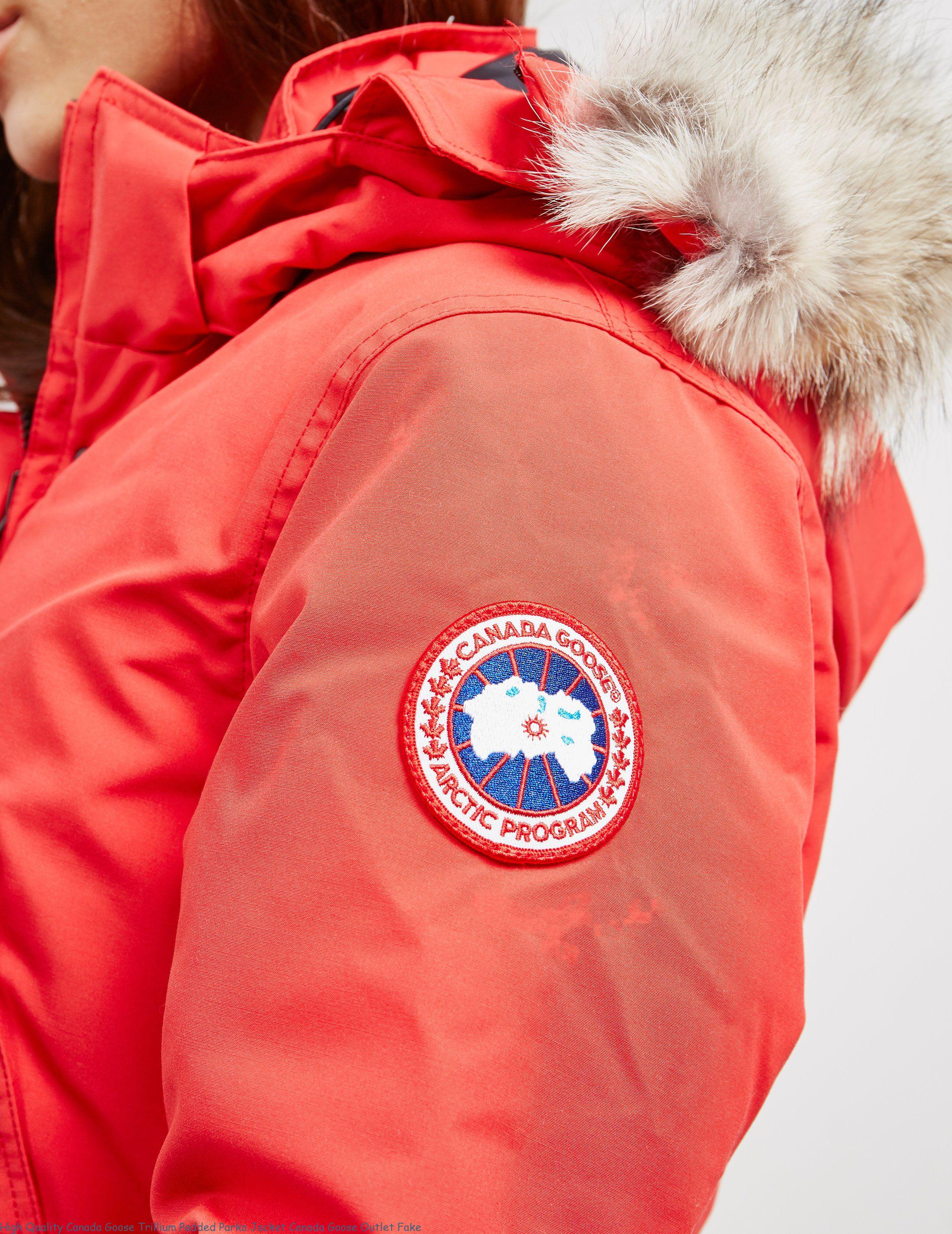 High Quality Canada Goose Trillium Padded Parka Jacket Canada Goose Outlet Fake